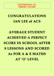 T35-perfect score